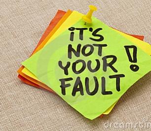 Het was niet mijn schuld!